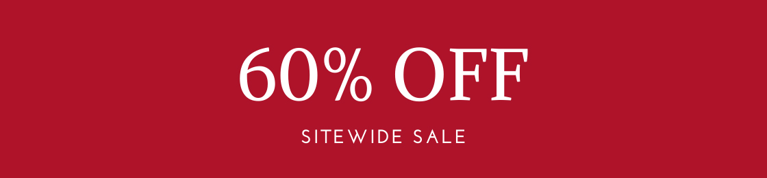 60 percent sitewide sale
