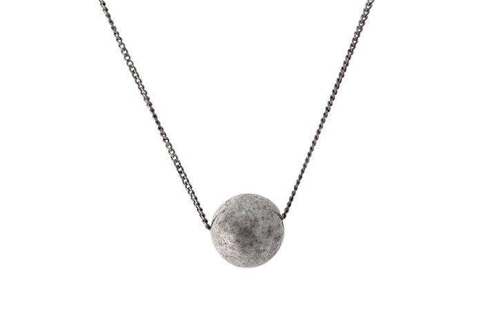 Silver Ball Slider Pendant