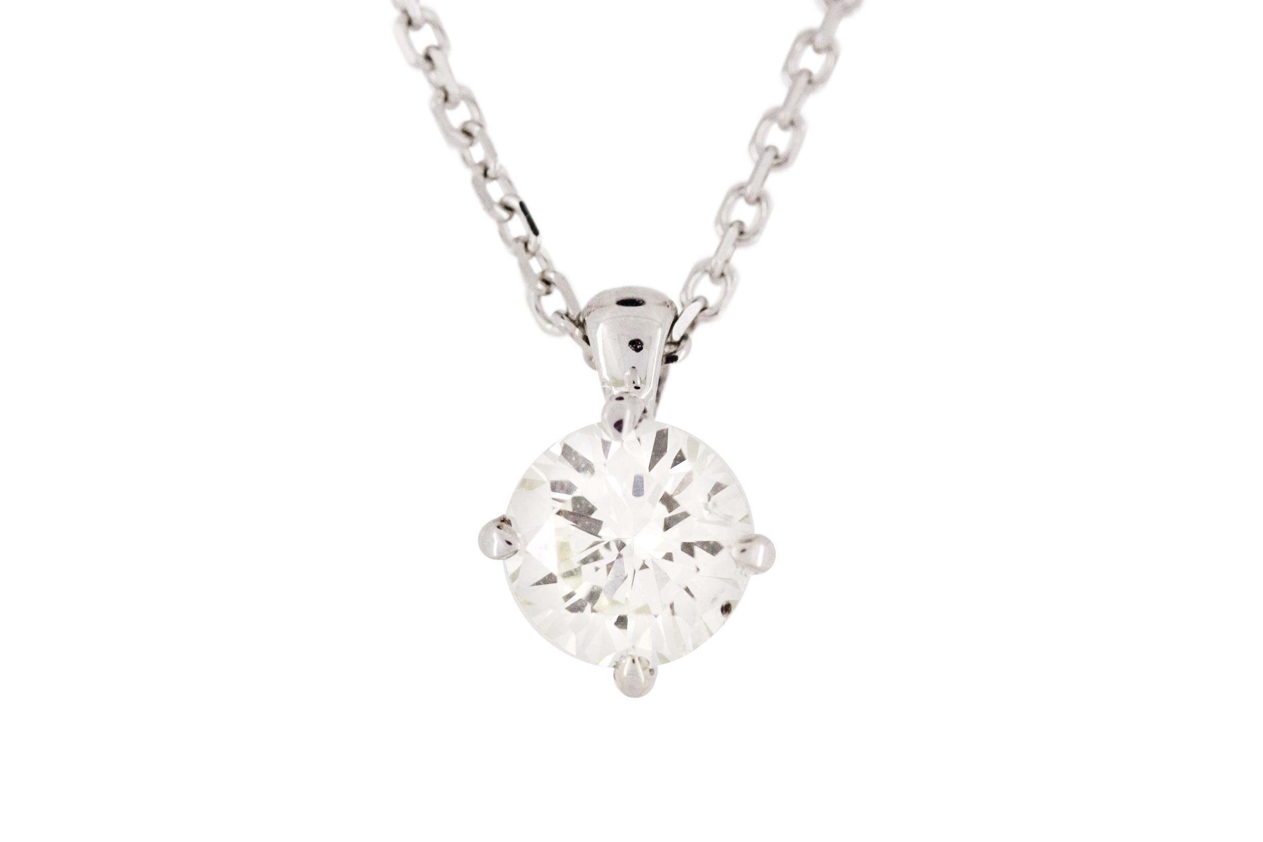 necklace in jewellery diamondland gold rose diamond pendant jewelry