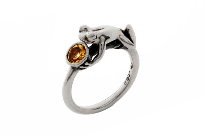 The Gem Hopper ring