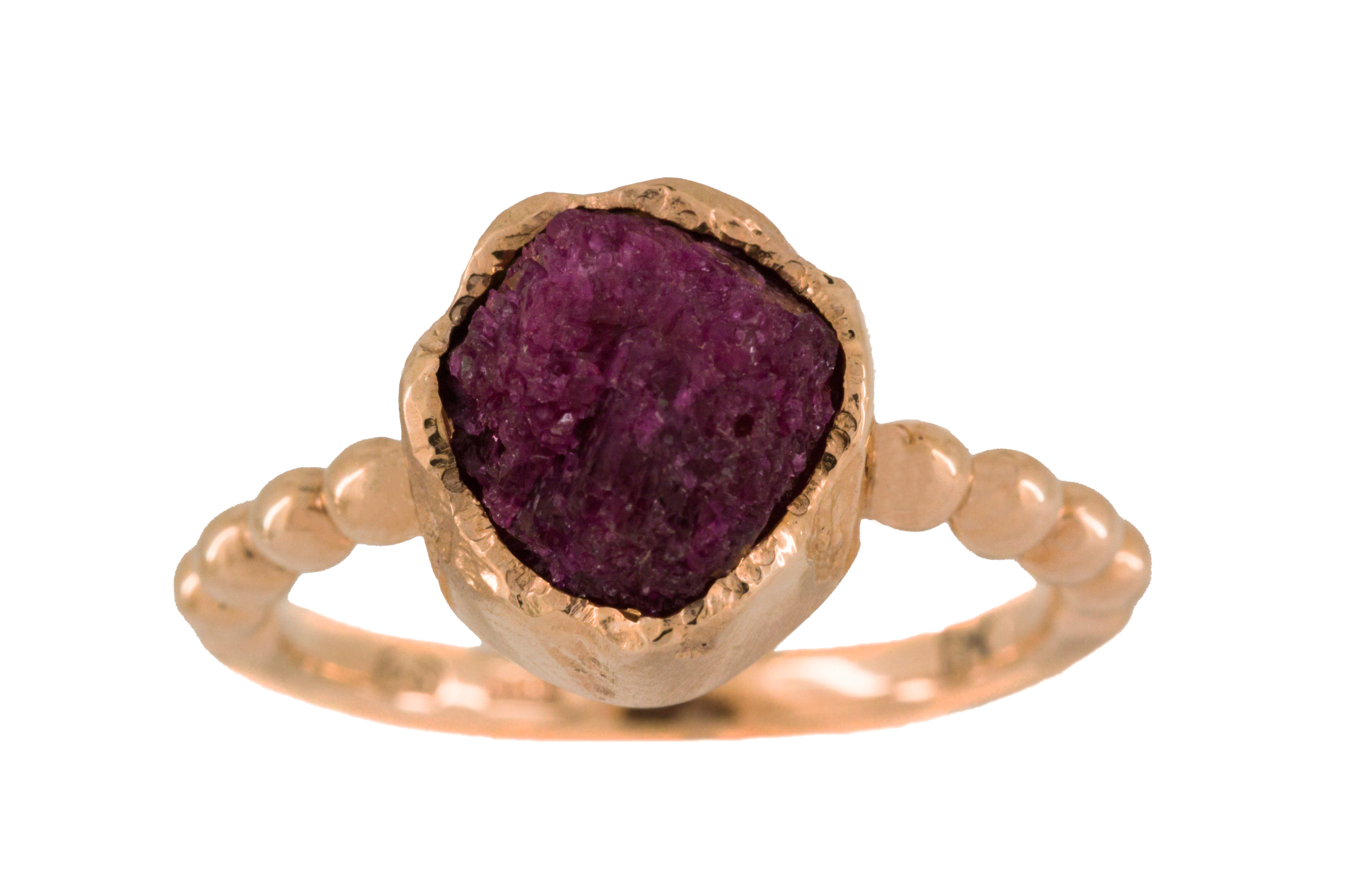 Ruby Crystal in 9ct Rose Gold